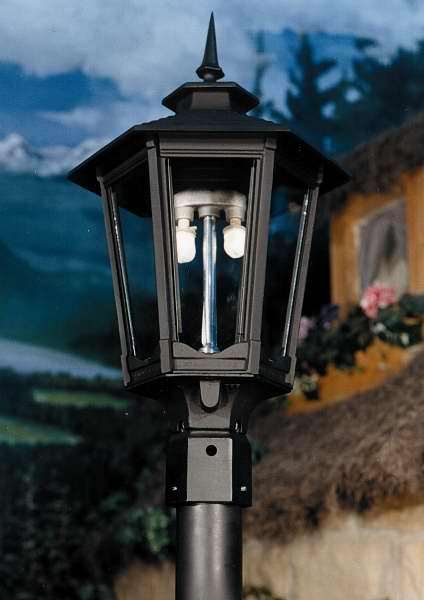 GL1600 Aluminum Gas Light Head for Post Mount