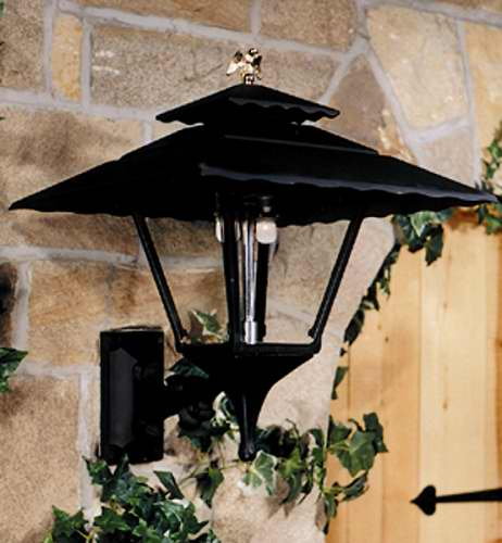 GL1800WM Aluminum Gas Light Head With Wall Mount