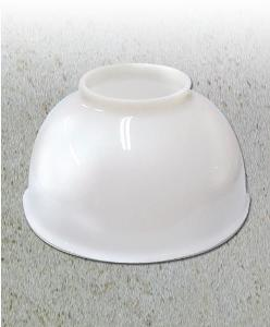 GLP399 Gaslight Dome, Milk Glass for GL48 Victorian Lights