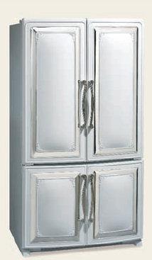 Elmira Antique French Door Refrigerator 20 Cubic Foot