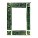 Leaf / Green 3.5x5 Picture Frames