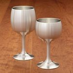 Pewter Wine Goblet 4 ounce