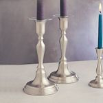 Woodstock Pewter Candlestick