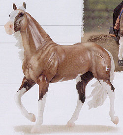 Breyer Horses Traditional Size Big Chex to Cash #1357