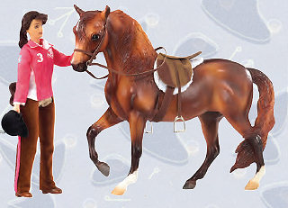 Breyer Horses Traditional Size Lets Go Riding English #1409