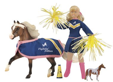 Breyer Horses Traditional Size Pony Pep Rally Gift Set #1424