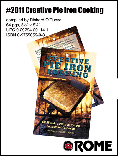 Romes #2011 Creative Pie Iron Cooking Book