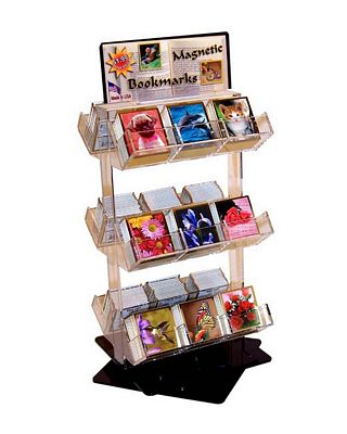 Magnetic Bookmark Display (Free with 216 bookmarks)