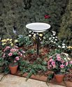 20 in. Bird Bath w/ Metal Stand (non-heated)