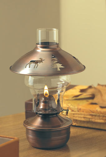 montana oil lamp with matching shade hwi661929. Black Bedroom Furniture Sets. Home Design Ideas