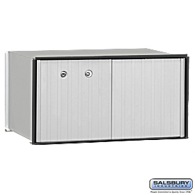1 DOOR ALUMINUM PARCEL LOCKER-PRIVATE ACCESS