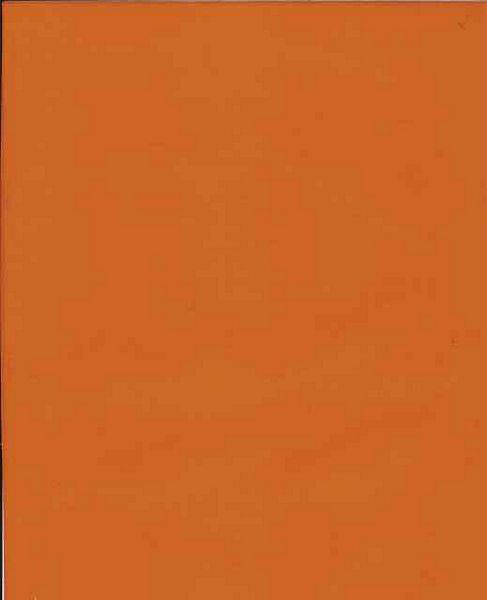 Solid Orange Oil Cloth