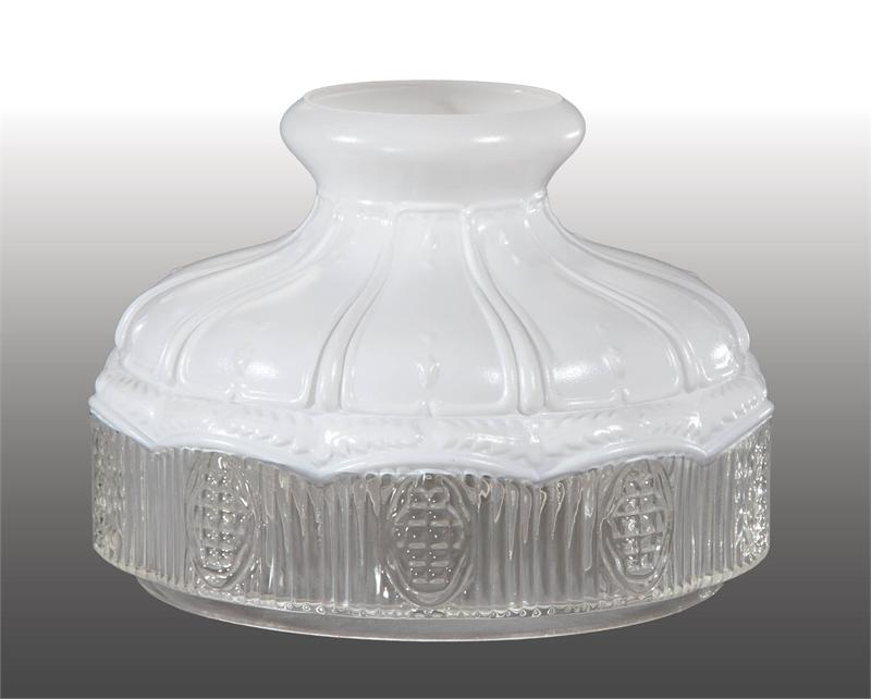 Aladdin lamps style 10 model 9 satin and clear glass lamp shade aladdin style 10 model 9 satin and clear glass lamp shade aloadofball Images