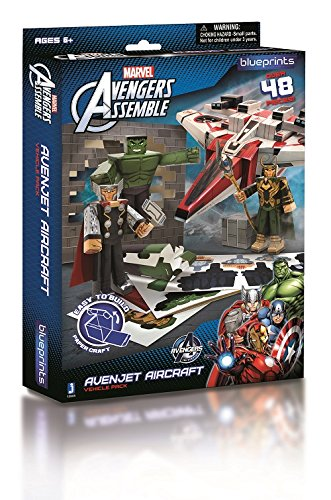 Blueprints paper craft marvel avengers avenjet aircraft pack 12805 blueprints paper craft avenjet aircraft pack 12805 malvernweather Gallery