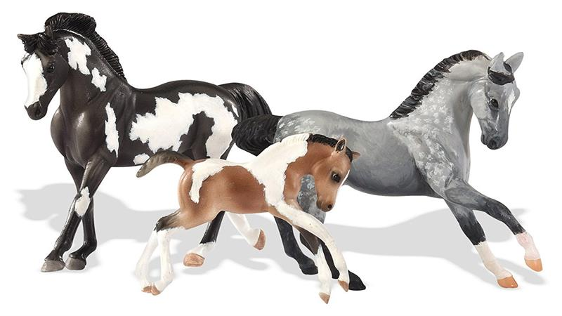 Breyer Horses Stablemates Size Family Painting Kit 4157 Set Of 3 Horses To Paint