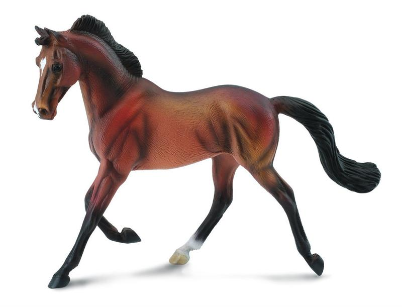 Breyer Horses Corral Pals Bay Thoroughbred Mare 88477 By Collecta