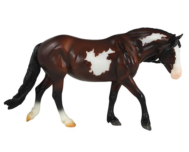 breyer horses classics size bay overo pinto pony 920 haflinger model