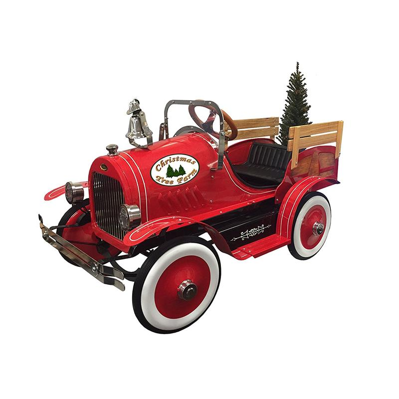 Dexton Kids Christmas Tree Red Delivery Truck Dx 22233