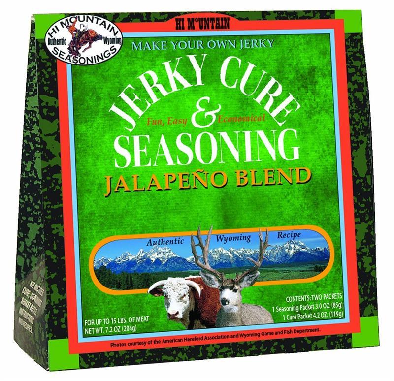 Hi Mountain Jalapeno Jerky Cure Seasoning
