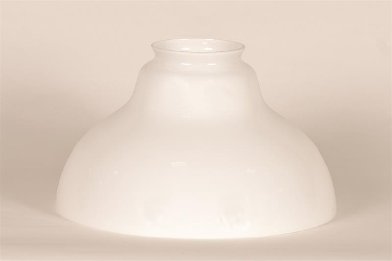 Aladdin lamps 12 glass opal white bell shade n210 aloadofball Images