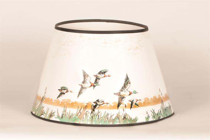 Aladdin lamps 14 flying ducks parchment lamp shade n388 aloadofball Gallery