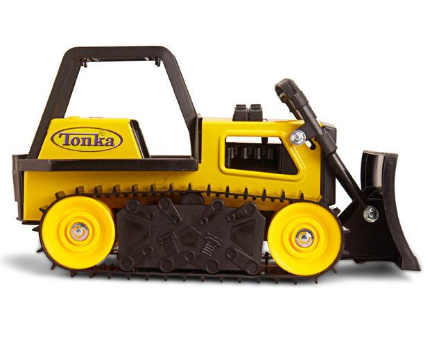 Tonka Construction Toys For Boys : Tonka toys retro classic steel bulldozer