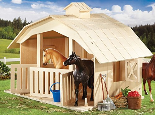 granddaughter breyer horse to a barns labor love ultimate create stall for of hours n barn the