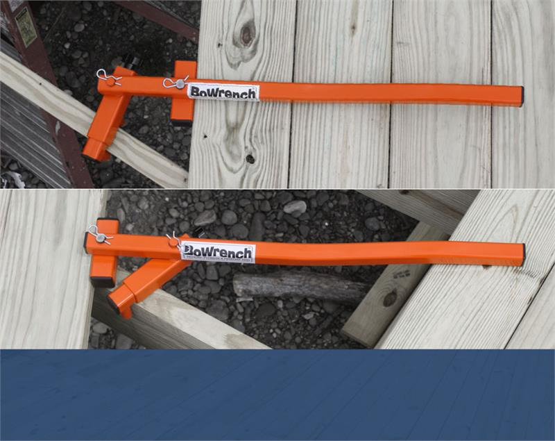 Bowrench Deck Tool ~ Cepco tools bowrench deck tool bw