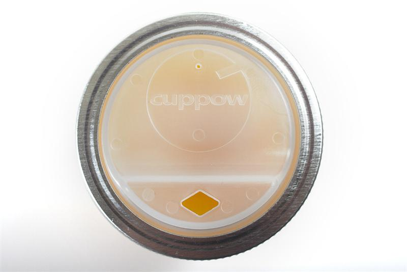 cuppow american made mason jar drink lid wide mouth clear. Black Bedroom Furniture Sets. Home Design Ideas