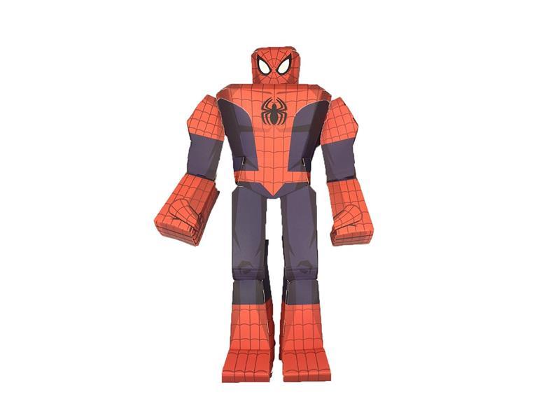 blueprints paper craft marvel 12 spider man 12811