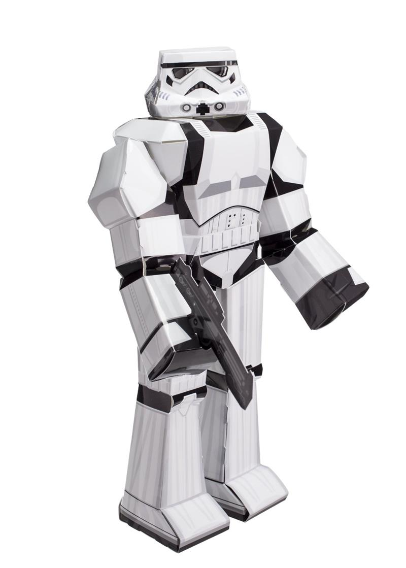 blueprints paper craft star wars storm trooper 12914. Black Bedroom Furniture Sets. Home Design Ideas