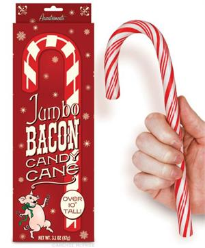 Accoutrements Jumbo Bacon Candy Cane #12306