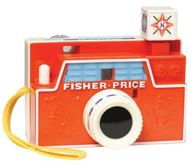 Fisher Price Retro Changeable Disc Camera #1707