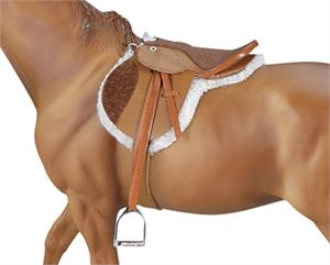 Breyer Horses Traditional Size Devon English Huntseat Saddle #2464