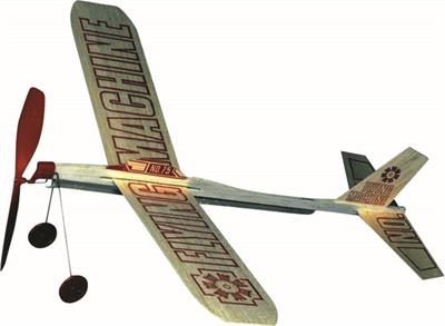 Guillow Flying Machine Balsa Airplane