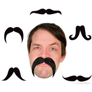 Accoutrements Bendable Party Mustache #11568