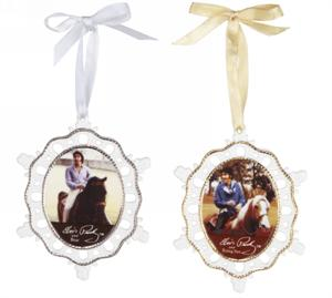 Breyer Horses Elvis Rising Sun & Bear Porcelain Ornament Set #10330