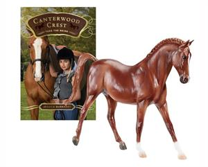 Breyer Horses Classics Size Charm with Canterwood Crest #6170 Gift Set