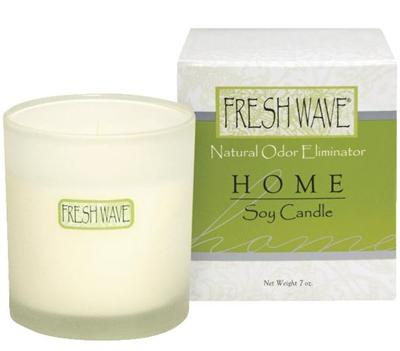 Fresh Wave Odor Neutralizing Kitchen Soy Candle, 7-Ounce Containers (Pack of 3)