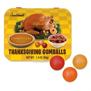 Accoutrements Thanksgiving Flavored Gumballs #12099