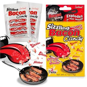 Accoutrements Sizzling Bacon Candy 2 Pk #12432