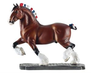 Breyer Horses Breeds of the World Series Clydesdale #8254