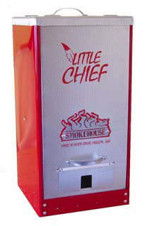 Little Chief Front Load Tuff Coat Red Smoker #9900-RED