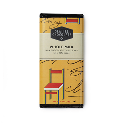 Creamy milk chocolate with caramel flavor notes...a long-standing favorite among the pickiest milk chocolate lovers. This classic truffle bar boasts 100% Rainforest Alliance Certified™ cocoa. 2.5 oz. 32% Cacoa. Gluten Free, Kosher Dairy Certified. Yummy!