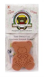 Brown Sugar Bear maintains moisture in brown sugar for approximately 3 to 6 months. Made from specially fired clay; food safe and reusable
