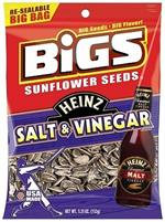 Bigs Heinz Salt and Vinegar Sunflower Seeds, #1070