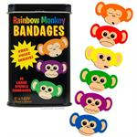 Accoutrements Rainbow Monkey Bandages  #11812