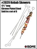 Rome Kebab Skewer Set, Set of 6 #2029