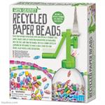 Green Creativity Recycled Paper Bead Making Kit #4612