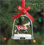 Breyer Horses Peppermint Kisses Stirrup Ornament #700316 Christmas Holiday